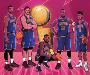 Basketball, cleveland, and LeBron James image