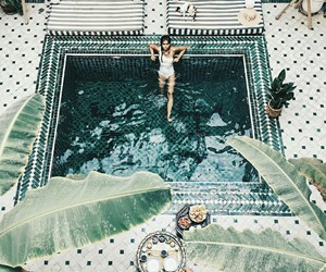 cool, design, and pool image