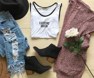 fashion, festive, and outfit image