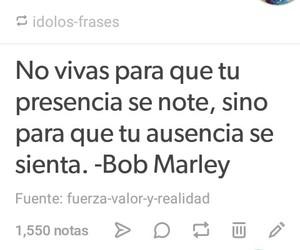 bob marley, frases, and tumblr image