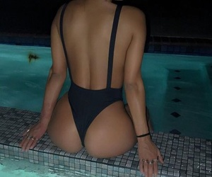 body, booty, and pool image