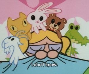 bubbles, cartoon, and powerpuff girls image