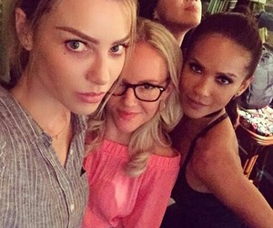 chloe, Ella, and lucifer image