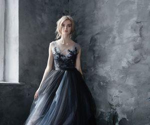 dress, prom dress, and a-line prom dress image
