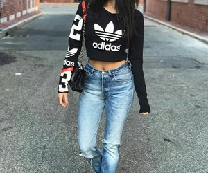 adidas, street style, and fashion image