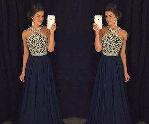 beautiful, dress, and prom dress image