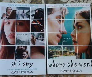 books, if i stay, and recommendations image