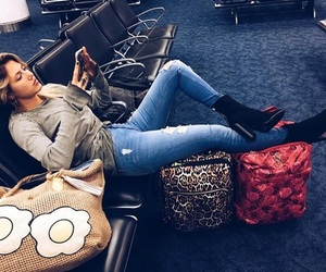 airport, beauty, and clothing image
