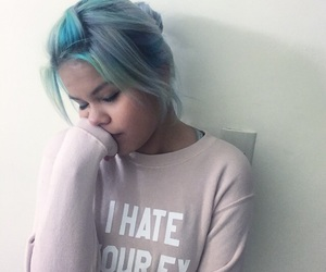 color hair, ex boyfriend, and girly image