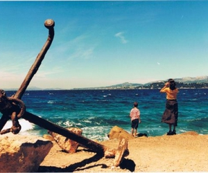 anchor, beach, and googles image