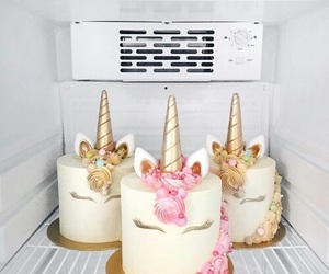 unicorn, cake, and goals image