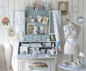cottage, lovely, and pastel image