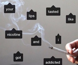 grunge, lips, and addicted image
