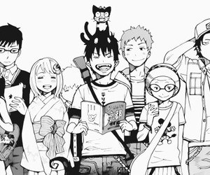 ao no exorcist, manga, and anime image