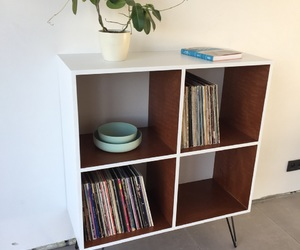 cabinet, furniture, and homemade image