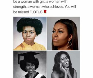 michelle obama, woman, and beautiful image