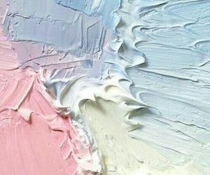 pastel, pink, and blue image