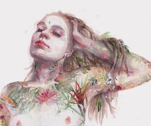 art, nudity, and nature image