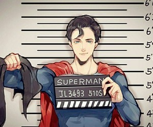 superman, dc comics, and background image