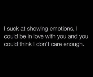 quote, emotions, and love image