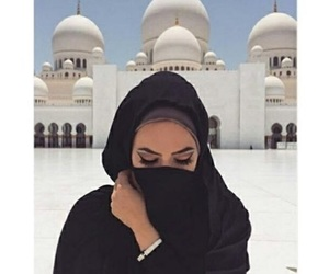 woman, qatar, and beauty image