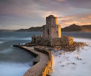 Greece, methoni, and fortress image