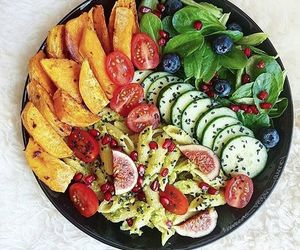 food, fitness, and fries image