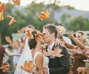 wedding and autumn image