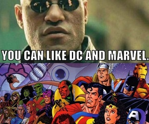 DC and Marvel image
