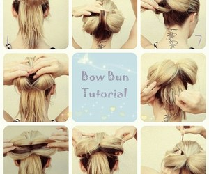 hair tutorials, cute, and hairstyle image