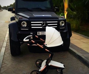 car, baby, and jeep image