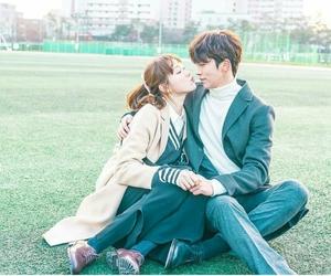kdrama, kiss, and cute image