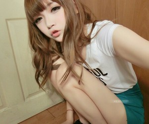 cute girl, korean girl, and ulzzang image