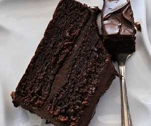 cake, delicious, and nutella image
