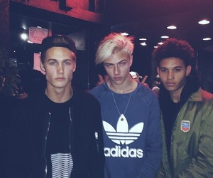 lucky blue smith, neels visser, and boy image