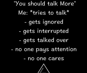 no one cares, people, and quotes image