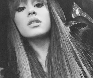bw, dangerous woman, and ariana grandes image