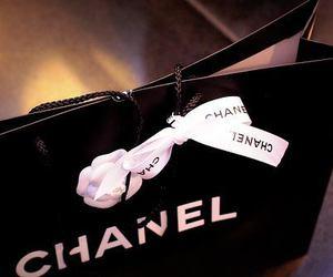 chanel, bag, and shopping image