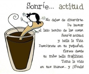 vibra, sonrie, and ☕ image