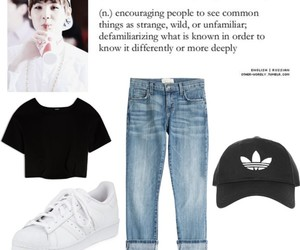 outfit, bangtan, and bts image