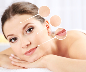 skin care and healthy glowing skin image
