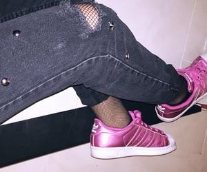 adidas, Bershka, and black image