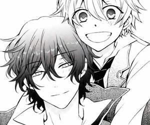 anime, amistad, and oz vessalius image
