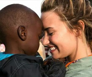 africa and demilovato image