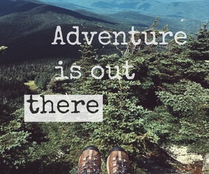 adventure, quotes, and artsy image