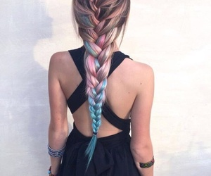 aesthetic, braid, and open shoulder image