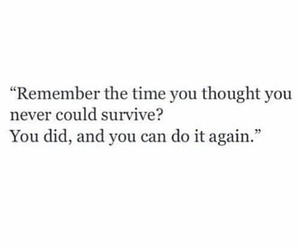 quotes, survive, and words image