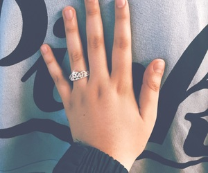 aesthetic, princess ring, and classy image