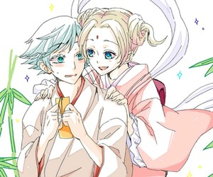 anime, couple, and kamisama hajimemashita image