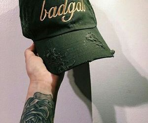 green and hat image